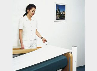 Sliding sheet / for people with reduced mobility pulla® aacurat gmbh