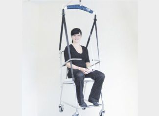 Patient lift seat-sling aacurat gmbh