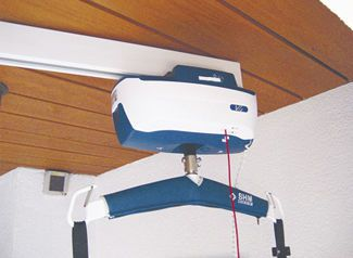 Rail ceiling-mounted / for patient lifts KWIKTRAK aacurat gmbh