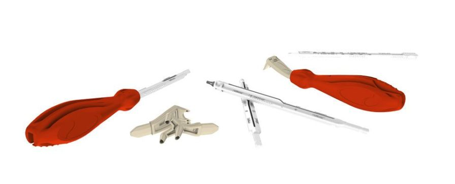 Ancillary kit / orthopedic surgery (bone staples and compression bone screws) NeoSys® in2bones