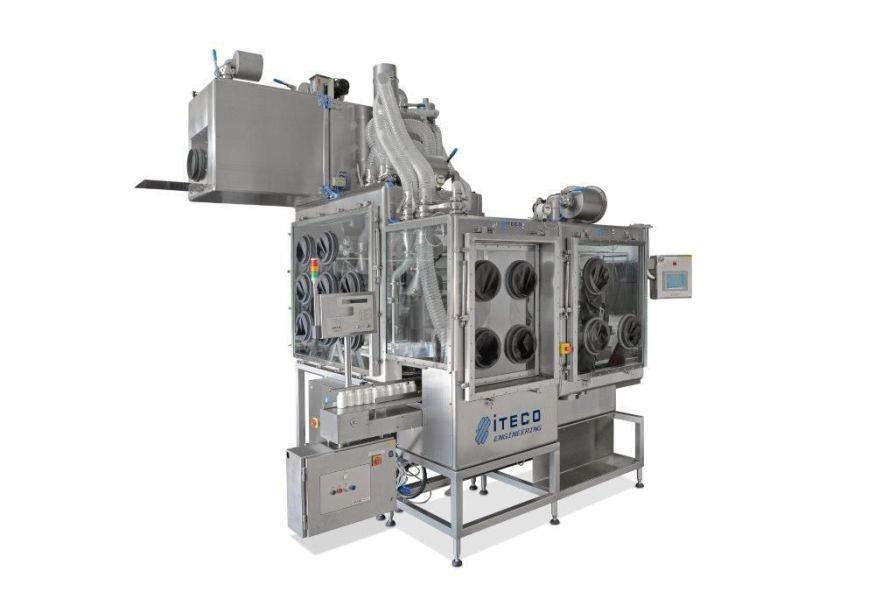 Chemical fume hood / radiochemistry / laboratory / vertical laminar flow ITECO SR.L.