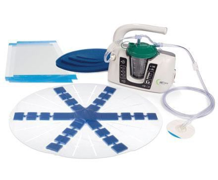 Negative pressure wound therapy unit ABThera™ Kinetic Concepts