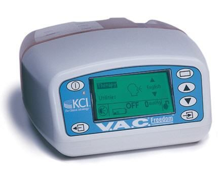 Negative pressure wound therapy unit V.A.C. Freedom Kinetic Concepts