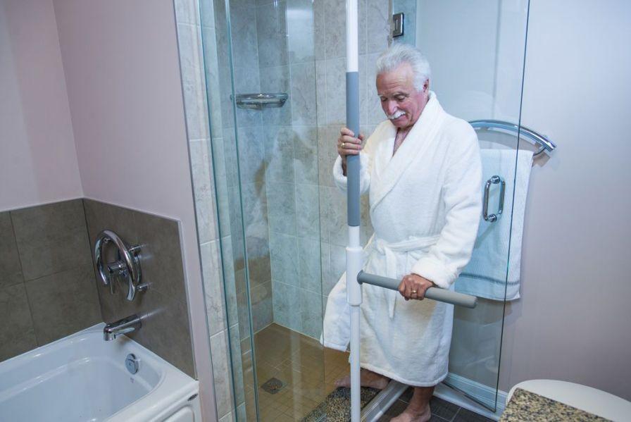Bed grab bar / bathroom SuperBar HealthCraft Product Inc