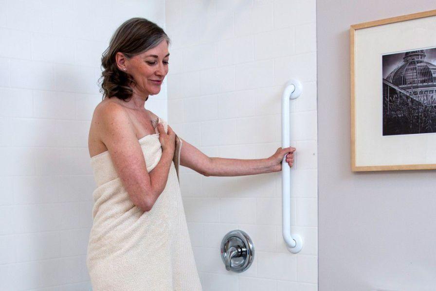 Bathroom grab bar / wall-mounted Easy Mount HealthCraft Product Inc