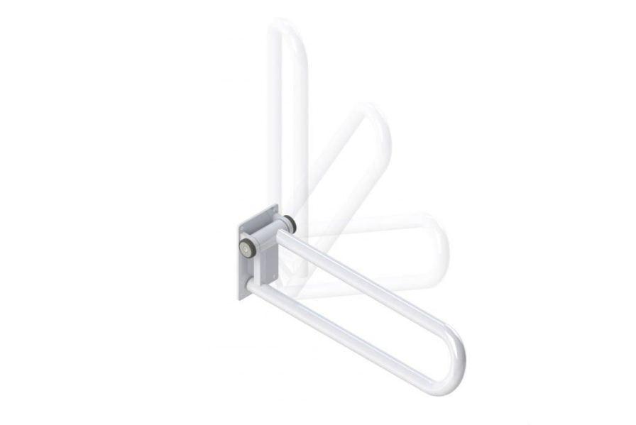Toilet grab bar / bathroom / wall-mounted / folding PT Rail HealthCraft Product Inc