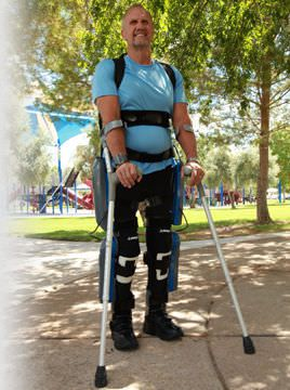 Rehabilitation exoskeleton REWALK™ Argo Medical Technologies