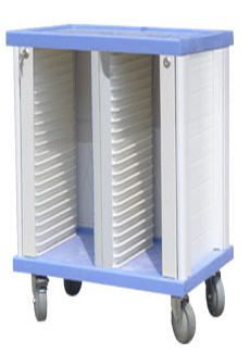 Medical record trolley / horizontal-access CHT-01B40 Nanjing Joncn Science & technology Co.,Ltd