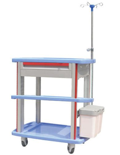 Treatment trolley / with drawer / 3-tray CT-8500IC3/8000IC3/7500IC3/7000IC3 Nanjing Joncn Science & technology Co.,Ltd