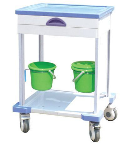 Treatment trolley / with drawer / 2-tray CT-60015C Nanjing Joncn Science & technology Co.,Ltd