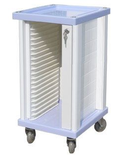 Medical record trolley / horizontal-access CHT-01B20 Nanjing Joncn Science & technology Co.,Ltd