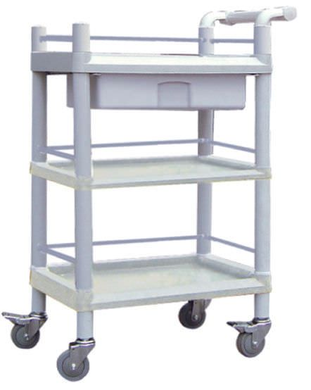 Multi-function trolley / with drawer / 3-tray 101J Nanjing Joncn Science & technology Co.,Ltd