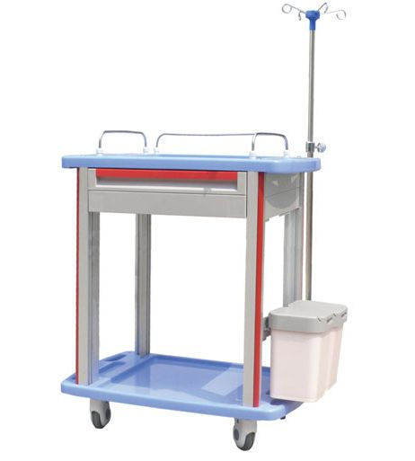 Treatment trolley / with drawer / 2-tray CT-8500IC/8000IC/7500IC/7000IC Nanjing Joncn Science & technology Co.,Ltd