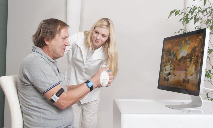 Arm rehabilitation system / hand / computer-based BiMeo PRO Kinestica