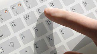 Disinfectable medical keyboard / glass / with touchpad T 808 TACTYS