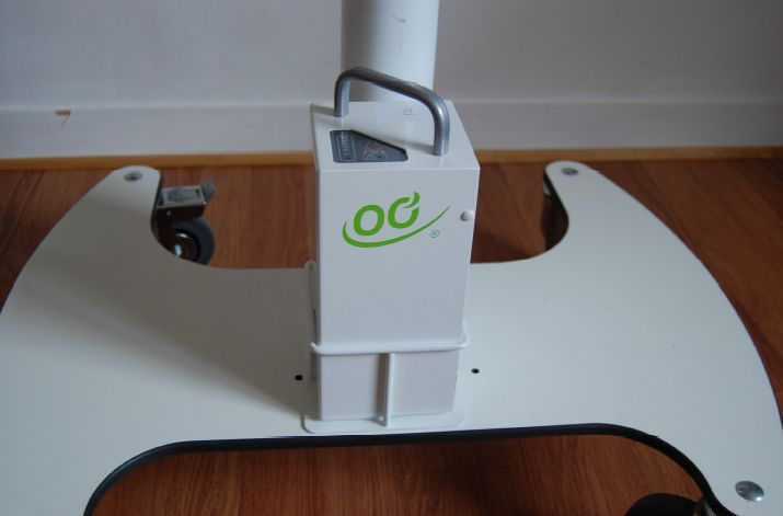 Height-adjustable computer cart / medical Mobilo TACTYS