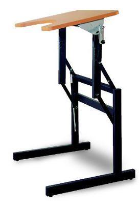 Height-adjustable ergotherapy table 29750 - Ergo S72R FYSIOMED NV-SA