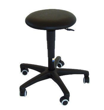 Medical stool / height-adjustable / on casters 29612 - Airlift Buro low FYSIOMED NV-SA