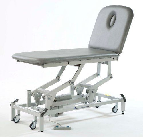 Electrical massage table / height-adjustable / on casters / 2 sections 14950 FYSIOMED NV-SA