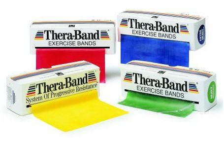 Exercise elastic band THERA BAND TOGU
