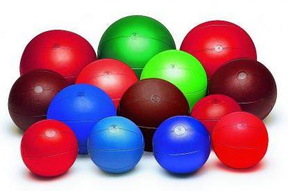 Jingling medicine ball 21/ 28 /34 cm TOGU
