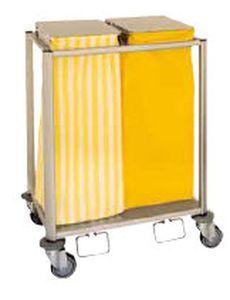 Linen trolley / waste / 2-bag Protea 80 Duo, Protea 110 Duo ARIANEL GROUPE ASCOLIA