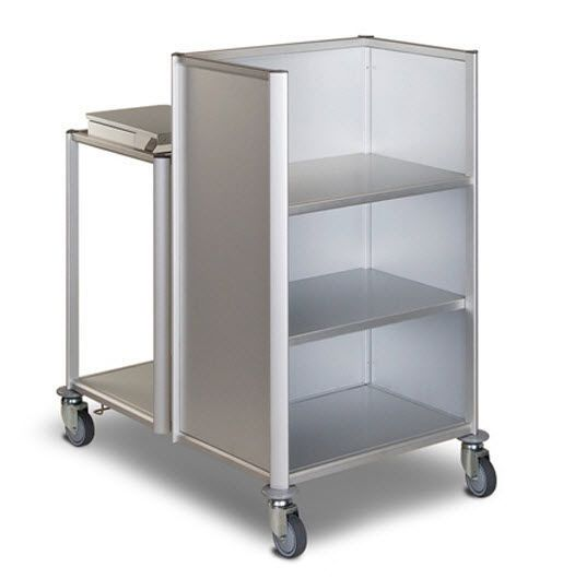 Dirty linen trolley / clean linen / with shelf Thalassa ARIANEL GROUPE ASCOLIA