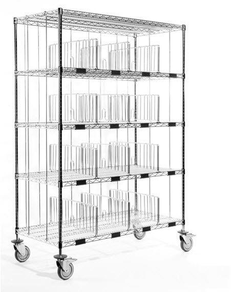 4-shelf shelving unit Metis ARIANEL GROUPE ASCOLIA