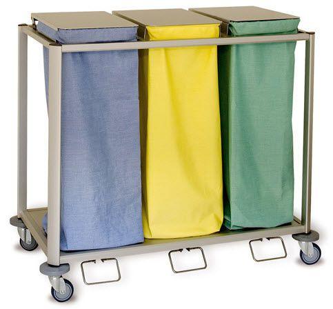 Linen trolley / waste / 3-bag Protea 80 Trio ARIANEL GROUPE ASCOLIA