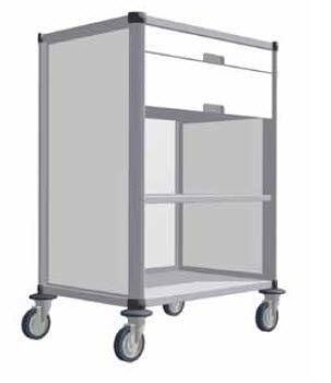 Clean linen trolley / modular VEGA ARIANEL GROUPE ASCOLIA