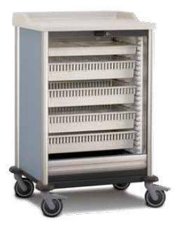 Treatment trolley / modular MEDIMOB ARIANEL GROUPE ASCOLIA