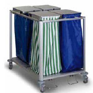 Waste trolley / linen / 4-bag Protea 80 Quattro ARIANEL GROUPE ASCOLIA