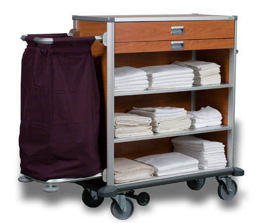 Clean linen trolley / dirty linen Atlas 1000 ARIANEL GROUPE ASCOLIA