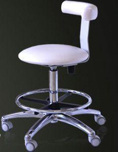 Dental stool / with backrest Slovadent