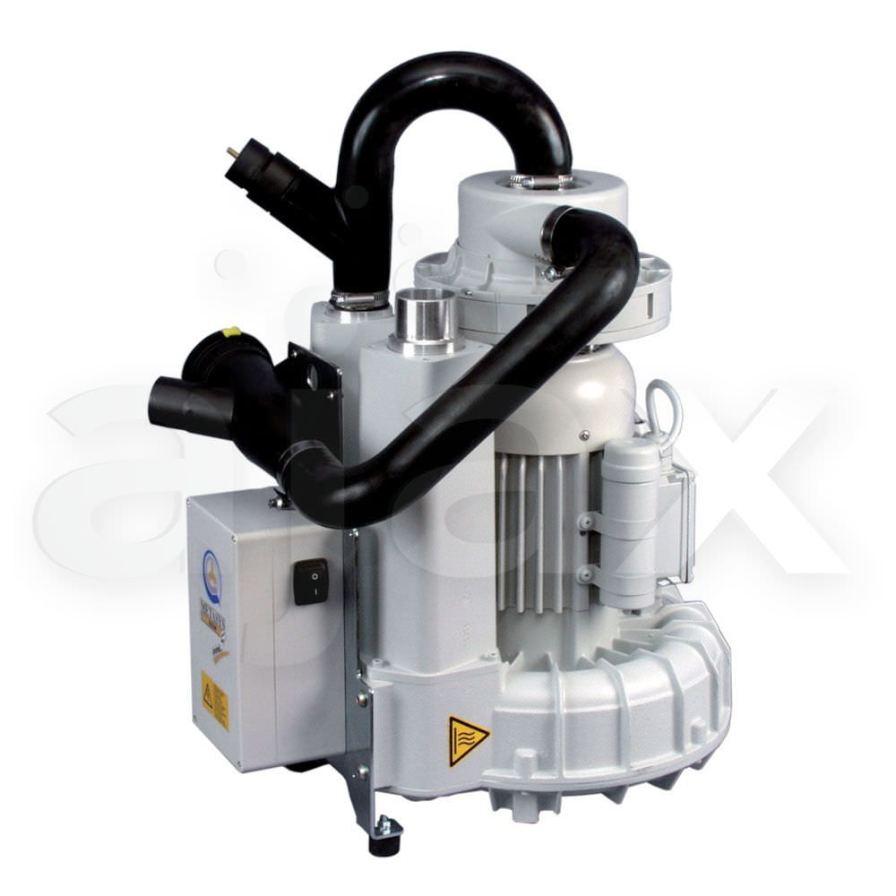 Aspirating central vacuum pump / dental HYBRID2 Ajax Medical Group