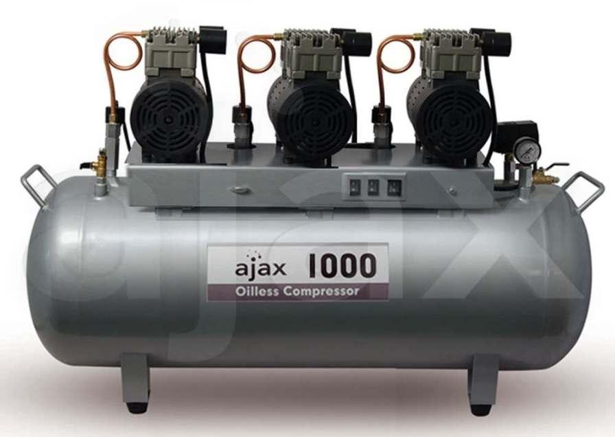 Dental unit compressor / medical 8 bar | AJAX1000 Ajax Medical Group