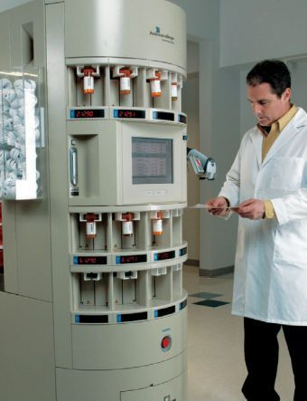 Automatic laboratory vial filling machine FASTFILL® 220 AmericourceBergen