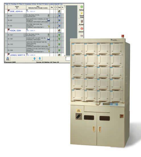 Storage cabinet / medication / for healthcare facilities AmericourceBergen