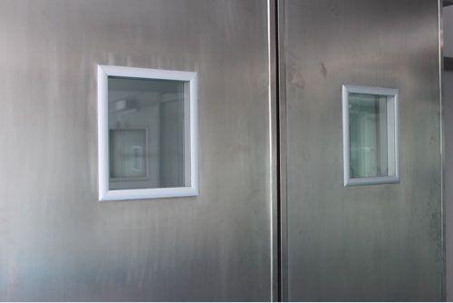 Laboratory door / hospital / sliding / automatic Victordoor
