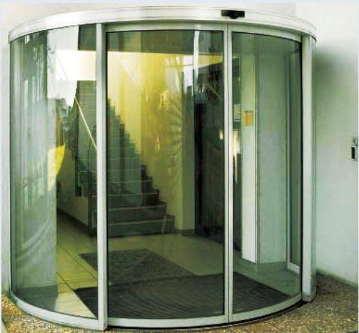 Hospital door / automatic / sliding / with glass panel VSC180 Victordoor