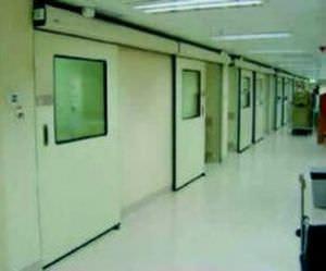 Hospital door / laboratory / sliding / hermetic Victordoor