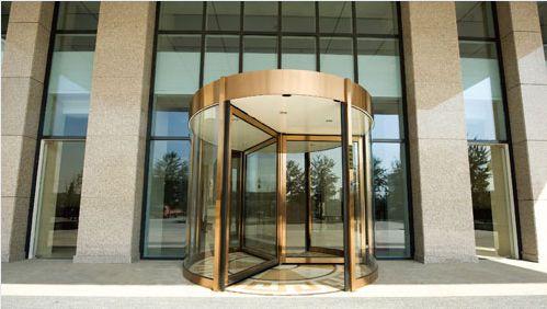 Hospital door / automatic / drum / with glass panel VC-THW-30 Victordoor