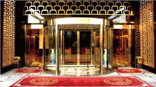 Hospital door / automatic / drum / with glass panel VC-TW-48 Victordoor