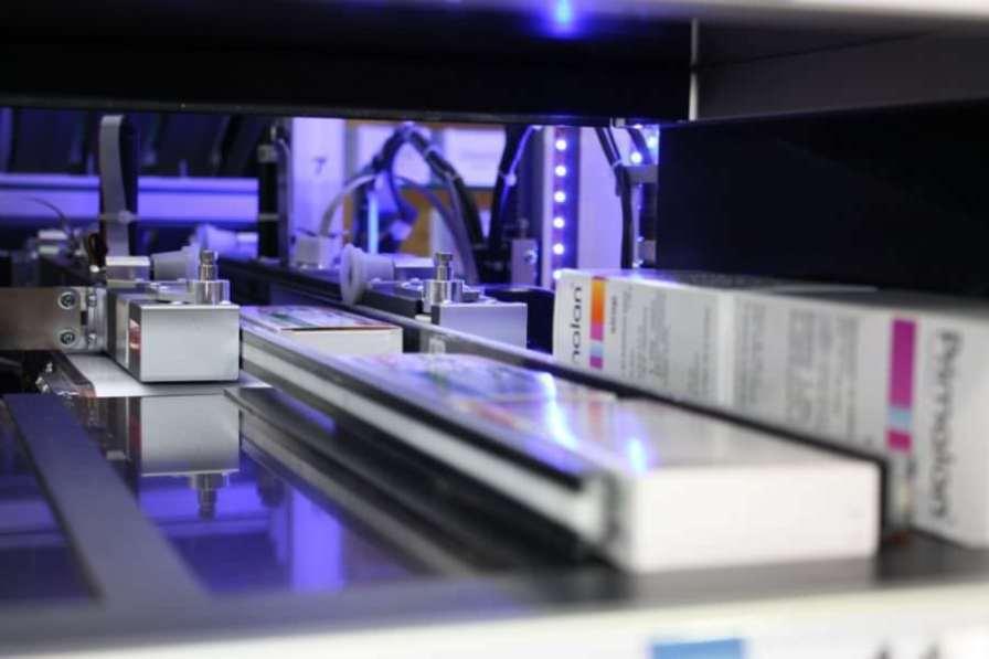Automated medication dispensing system Mekapharm Omega Dosette