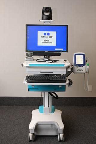 Telemedicine cart eDoc® ICUcare