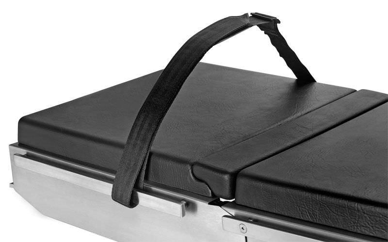 Body fixation strap / operating table BARRFAB