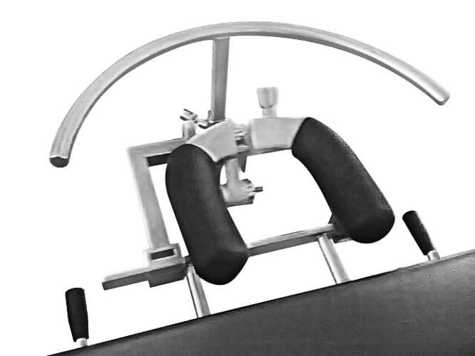 Headrest support / operating table / ophthalmic surgery / surgery BARRFAB