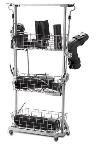 Instrument trolley / 3-tray BARRFAB