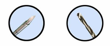 Percutaneous vertebroplasty drill (vertebral fracture treatment) Preston™ Laurane Medical
