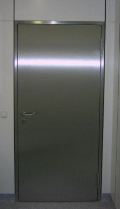 Laboratory door / hospital / swinging Hinged doors EMV